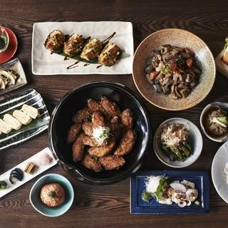 京都のおばんざいをテーマにした料理がずらり