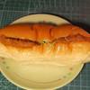 村島パン店 - 料理写真:...「ロースハムカツ(130円)」、懐かしいハムカツパン!