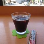 TO-FU CAFE FUJINO - 黒豆コーヒー(アイス)