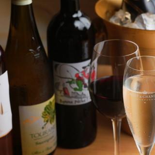 美味しいワインとお料理を気軽に楽しめます!!