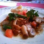 3119544 - ランチの魚料理