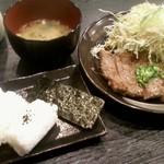 肉肉 鉄板焼 居酒屋 SAME SUN japanese WAGYU restaurant - ステーキ定食