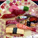 結城寿司 - 料理写真:にぎり10貫