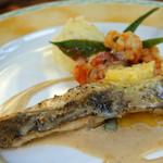 メーラレン - メインディッシュ魚料理(モーラコース)