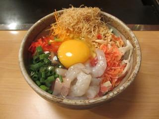 もんじゃ横丁 戸塚店 - ミックス天の材料