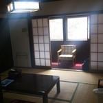 雄川閣 - 泊まった部屋の内観