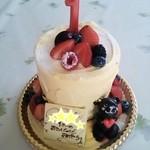 シュガーシャック - はじめてのお誕生日ケーキ♪\1860