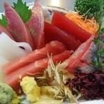 うなぎ 錦水 - お刺身
