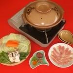 きじや - (冬)きじ鍋コース  ¥2,300