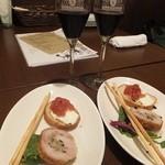キッチン テラ - グリッシーニ&前菜