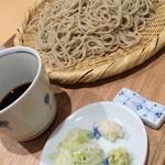 31203075 - 【ざる蕎麦】大盛り¥950