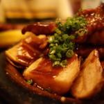 居酒屋 酒神 三代目 - トンテキはウスターソース味