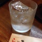 豚料理専門店らぶた - 141002 芋焼酎「黒霧島」ロック