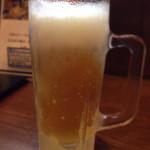 豚料理専門店らぶた - 141002 生ビール