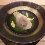 31204873 - 【餡かけ】~小蕪鴨射込の菊菜すり流し