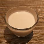 新割烹 丹色 - 【甘味】~自家製のパンナコッタ