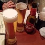 バル エスパーニャ - サントリーモルツとイタリアのビール