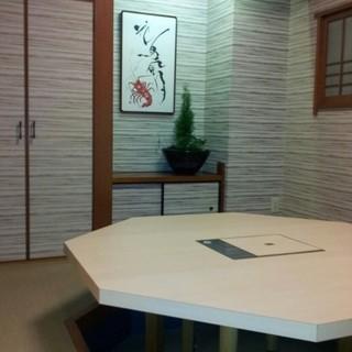 接待や会食などの大切な日には個室でごゆっくりと。