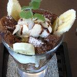 Cafe de 佛蘭西 - シフォンパフェ(飾り付けは一例です。)