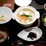 31210949 - 野菜と魚介スープ