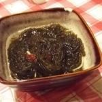 居酒屋釧路 - もずく酢
