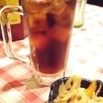 居酒屋釧路 - コーラ&きんぴら