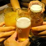 31213375 - 5名で乾杯〜♪