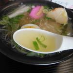 グランスポット - スープは澄んでます