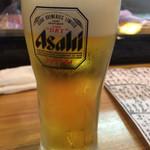 ととや - アサヒスーパードライ(¥450)