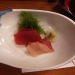 31217709 - おさしみ・天ぷら定食<梅> 刺身