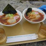 西穂山荘 - 西穂ラーメン しょうゆ ¥900