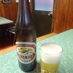 三平ホルモン - ドリンク写真:大瓶ビール