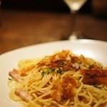 LINO - 料理写真:カラスミのパスタ(クリームソース)