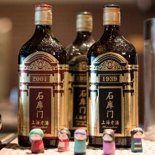 豊富な紹興酒メニュー