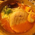味噌乃家 - 味噌ラーメン(こってり):680円