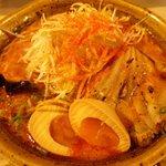 味噌乃家 - 辛ネギ味噌ラーメン(味玉トッピング):780円