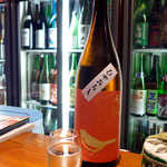 地酒喝采 かも蔵 - 【福岡】久留米・山口酒造場「春のうぐいす」(¥637)。ほわりと柔らかい香りと口当たり