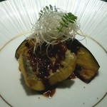 ケンゾーエステイトワイナリー - 太刀魚と茄子の天衣揚げ