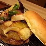 31224730 - 20140731訪問。京野菜バーガー:烏丸六角店・数量限定