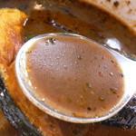 カワラヤ - スープはこんな感じ