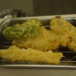 天ぷら えびす食堂 - 二弾目の四種