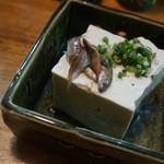 31229760 - スクガラス豆腐 550円