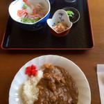 ドライブイン 光洋 - 配膳〜。