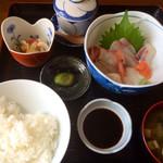 ドライブイン 光洋 - 刺身定食¥1050