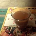 マンダラ - 食後のホットチャイ