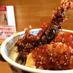 天ぷら 兎波 - 味噌天丼
