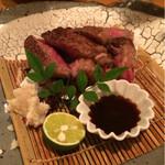 31233012 - いゃ〜美味かったです!飛騨牛サーロイン網焼き!(^O^)