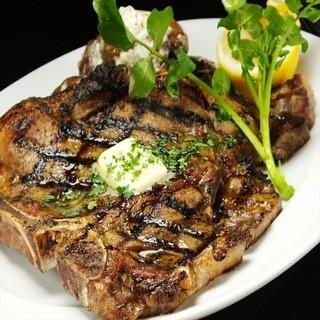 上質な和牛を豪快にステーキで!