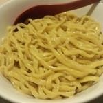 江戸甘 - 江戸甘@東京ラーメンストリート 味噌つけ麺の麺