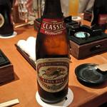 香家 - 瓶ビールで乾杯